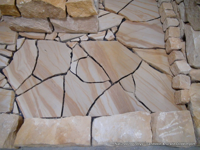 polygonalplatten bruchplatten bruchsteinplatten sandstein natursteine ist ein direktimport. Black Bedroom Furniture Sets. Home Design Ideas